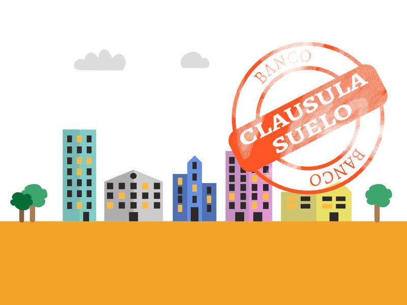 Ciudad con viviendas con cláusula suelo